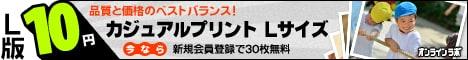 L版1枚10円!カジュアルプリント|オンラインラボ